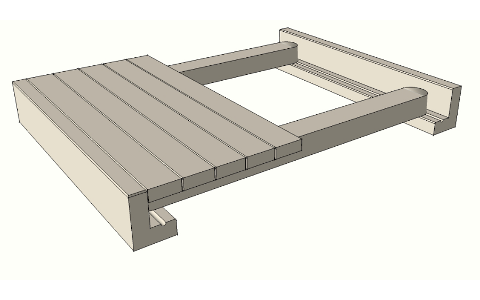Single Flat Bridge Unit.