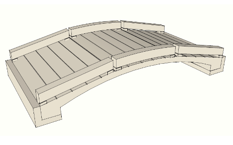 Single Arched Bridge Unit