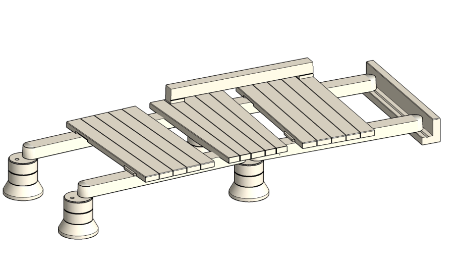 Anoxometric view of the KangaTrak boardwalk system